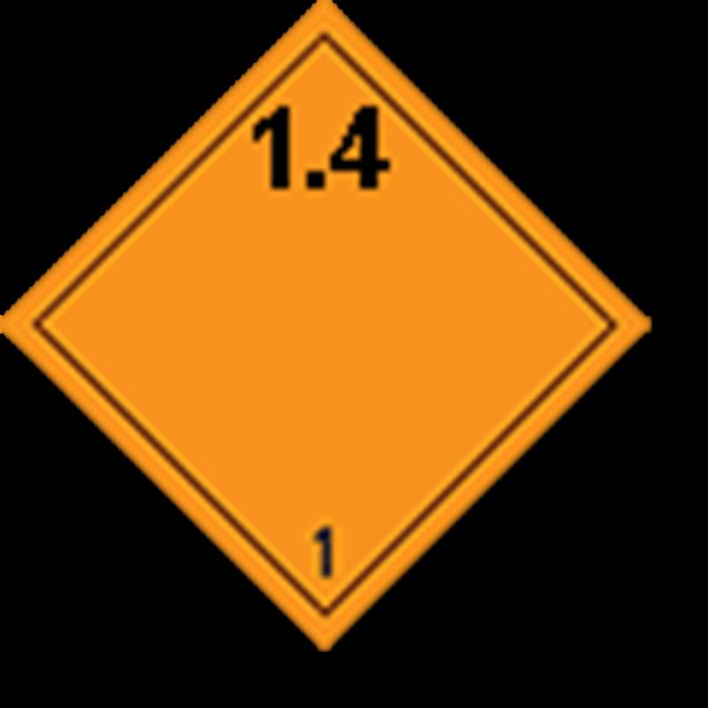 1.4 Ontplofbare stoffen