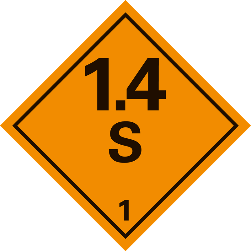 1.4 S Ontplofbare stoffen