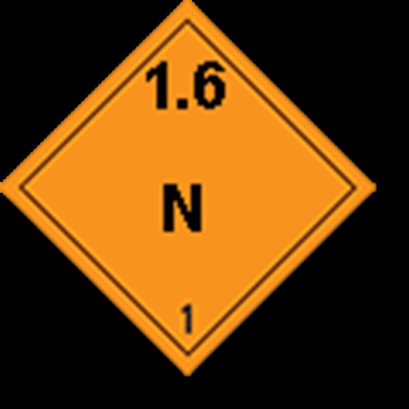 1.6 N Ontplofbare stoffen
