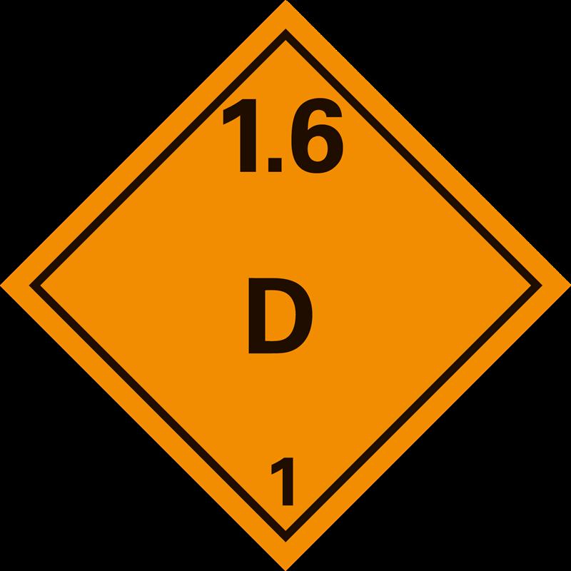 1.6 D Ontplofbare stoffen