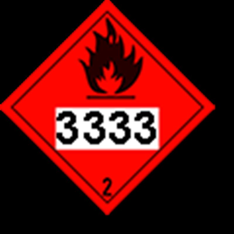2.1 Brandbare gassen met UN-code ingedrukt