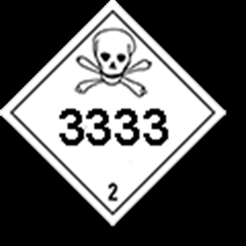 2.3 Giftige gassen met UN-code ingedrukt