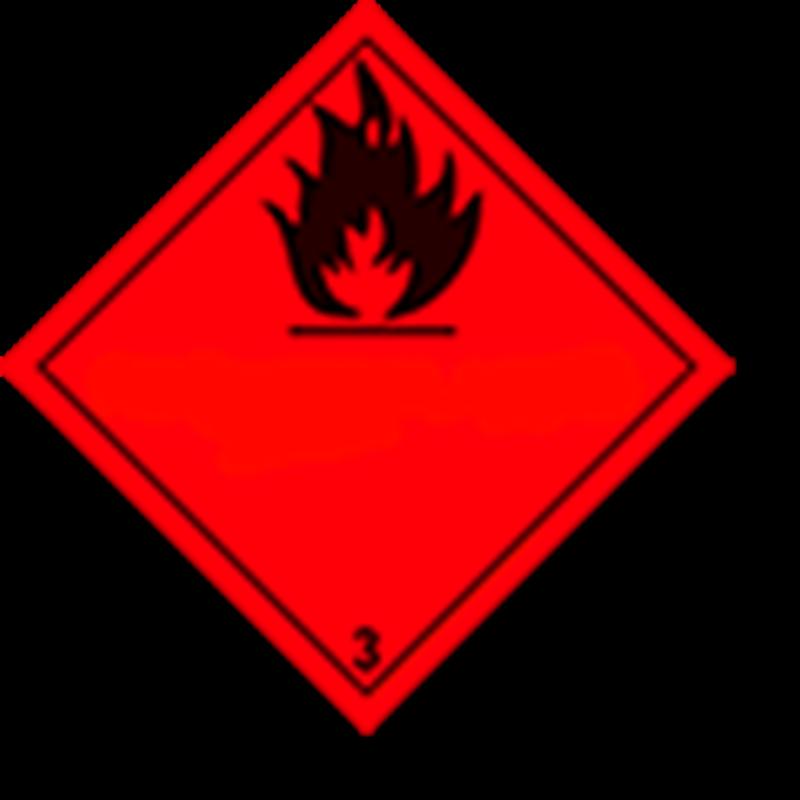 3.0 Brandbare vloeistoffen zonder tekst
