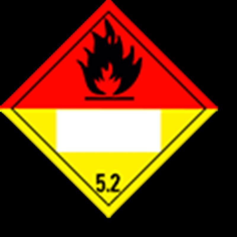 5.2 Organische peroxiden met UN-code ingedrukt