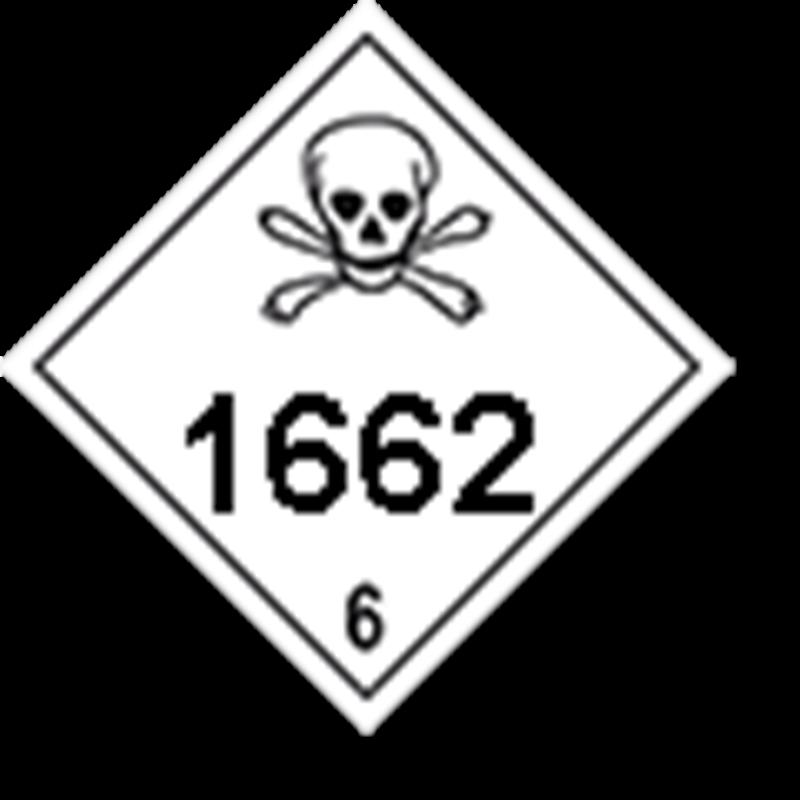 6.1 Giftige stoffen met UN-code ingedrukt