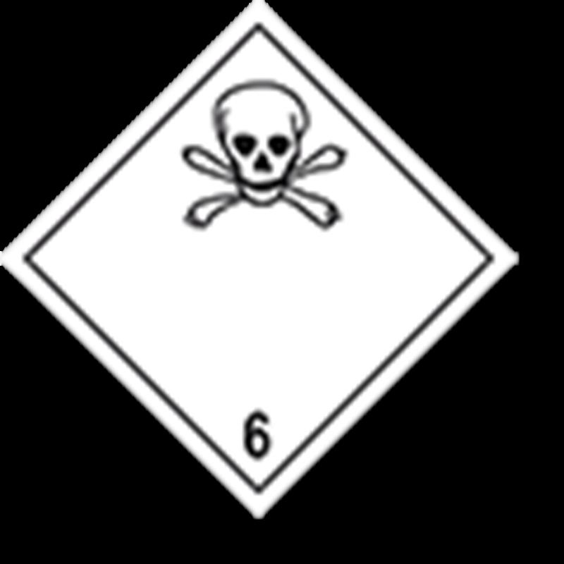 6.1 Giftige stoffen zonder tekst