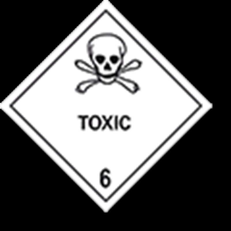 "6.1 Giftige stoffen met tekst (""Toxic"")"