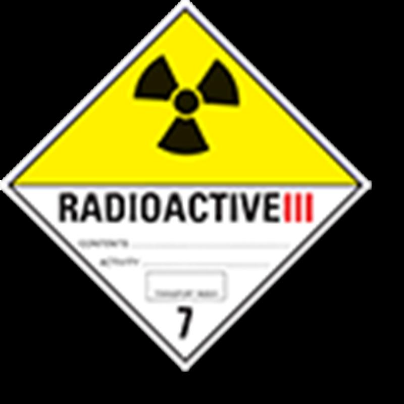"7.3 Radioactieve stoffen met tekst (""Radioactive III"")"