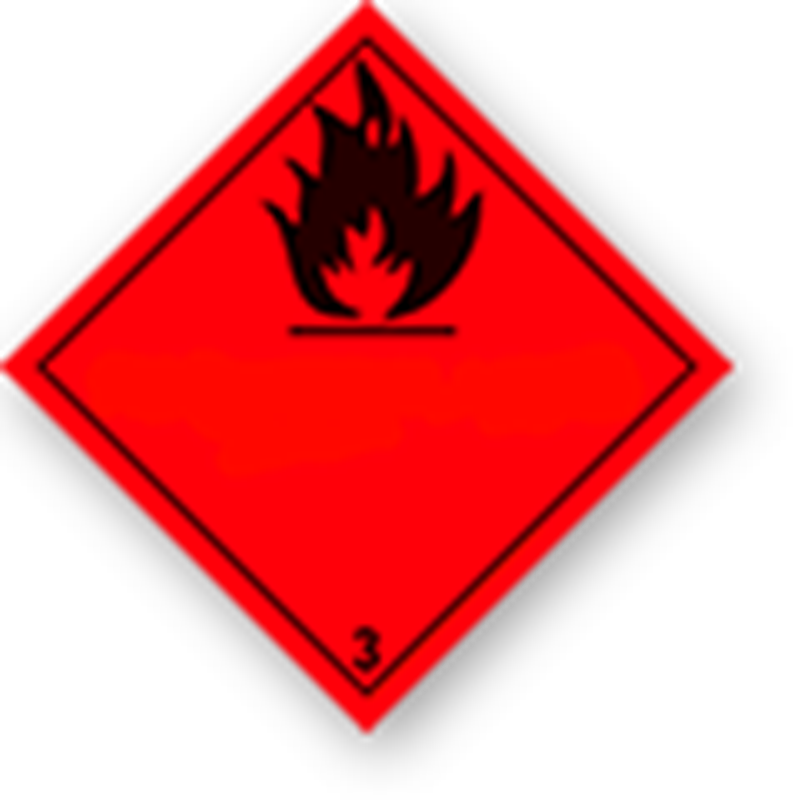 3.0 Flammable liquids with no text