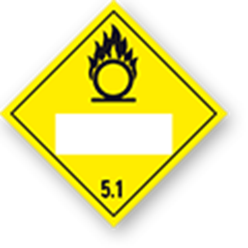 5.1 Oxidizers with UN-code imprint