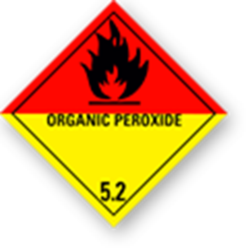 "5.2 Organic peroxides with text (""Organic peroxide"")"
