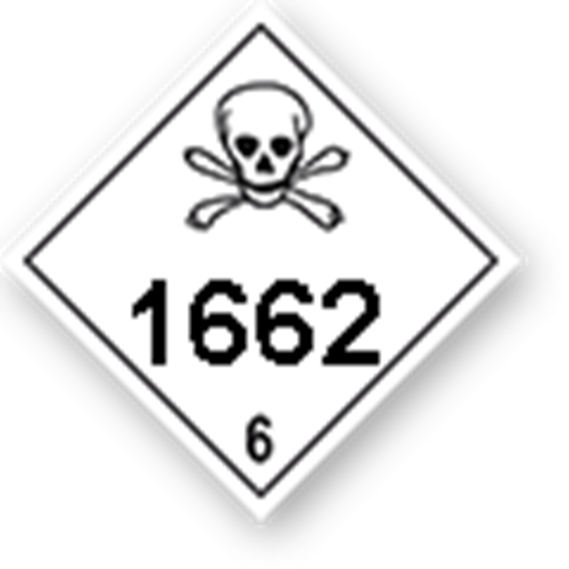 6.1 Toxic substances with UN-code imprint