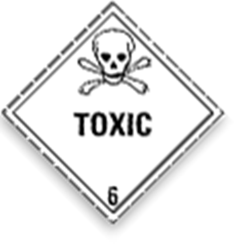 6.1 Toxic substances with border