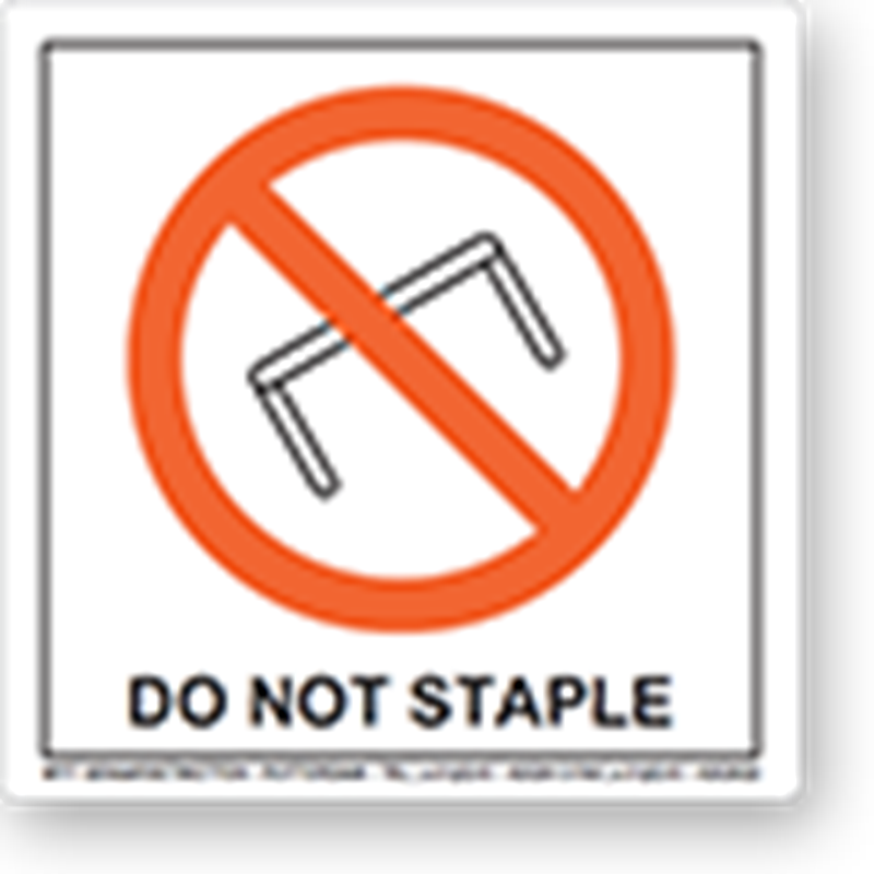 Do Not Staple