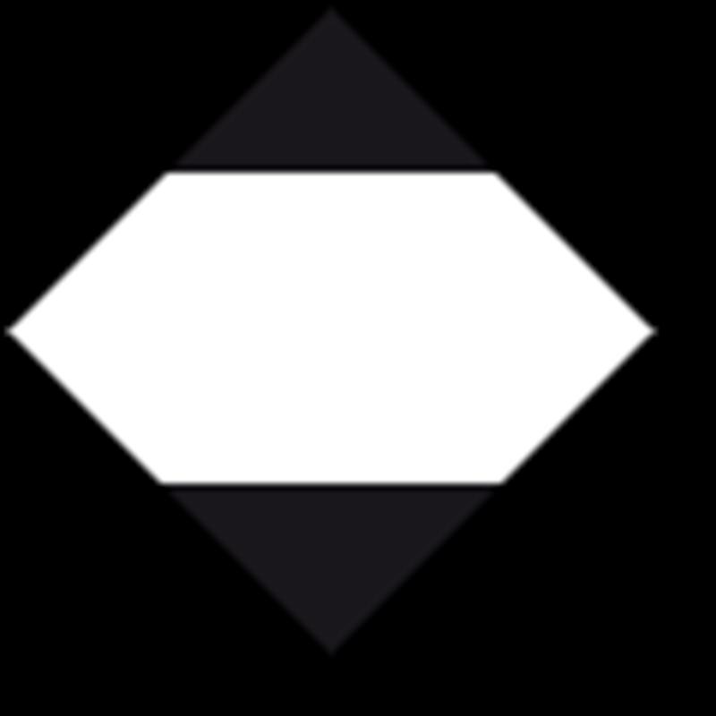 LQ etiket met wit kader