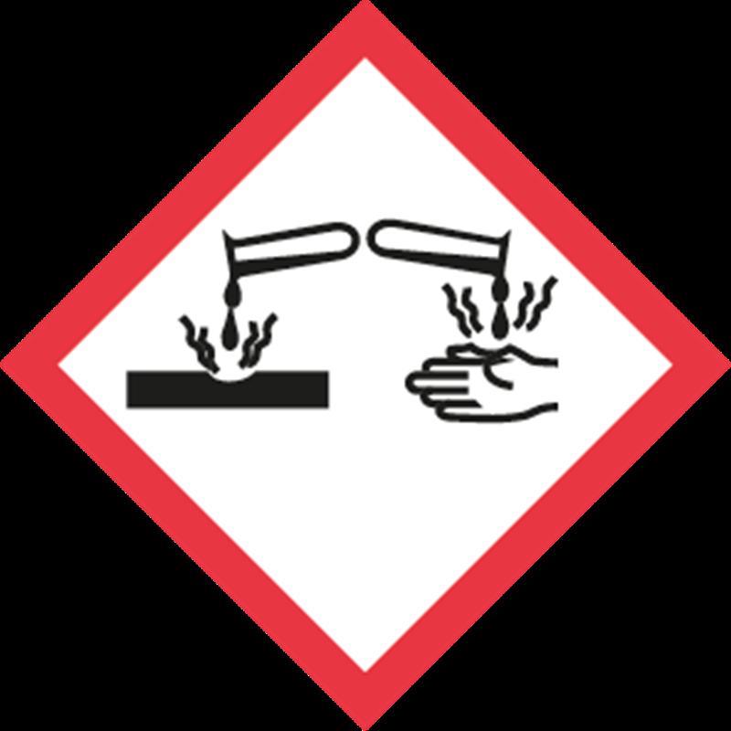GHS Corrosive